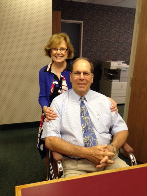 Betty Ann and Dr. Fred Van Istendal, Marlton NJ